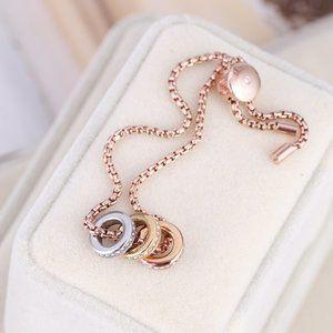Michael Kors Colorblock Ring Adjustment Bracelet
